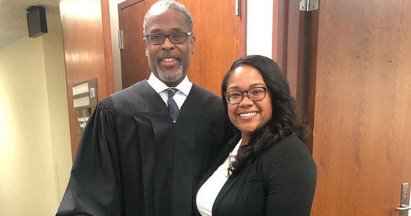 Judge give teen 2ed chance, she becomes lawyer